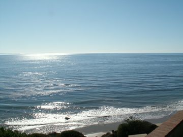 Santa Barbara cottage rental - view from the backyard