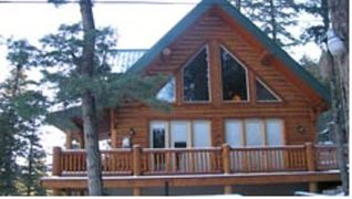 Ruidoso cabin photo - These large windows offer a beautiful view