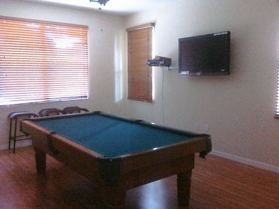 Billiard/Pool room