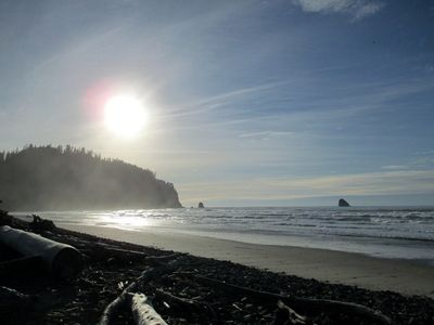 Walking distance from gorgeous Cape Meares beach.