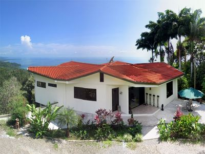Dominical villa rental - The Main House has 4 bedrooms and 4 bathrooms