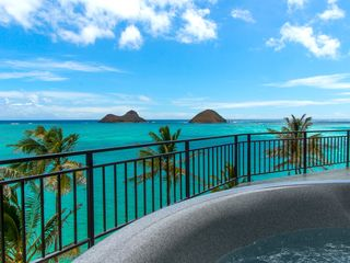 Lanikai house photo - View from the hot tub