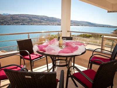 Wonderful location, wonderful view, wonderful beach right in front of the house - Lorenco 2