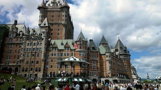 Milbridge house photo - Hotel Frontenac 6 hour drive to the north in Quebec Canada