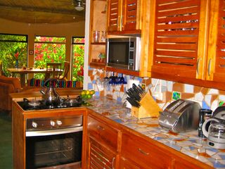 Nuevo Arenal house photo - A fully equipped kitchen.