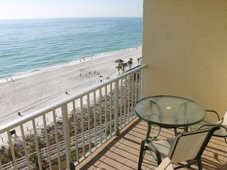 The Summit condo photo - Unit is gulf front with a beautiful view.