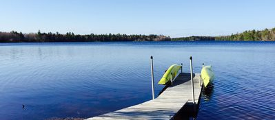 Lakefront Retreat: Quiet With Private Dock, Hot Tub, & Fire Pit