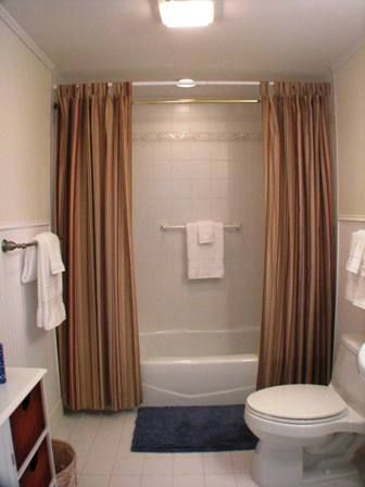 Jack-and-Jill bathroom - accessible from both lower level bedrooms