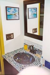 Santa Barbara studio photo - Artistic mosaic sink full bath with shower and tub