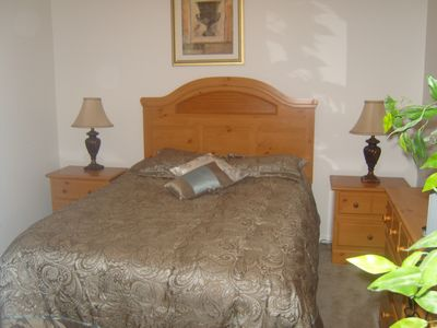 Clermont villa rental - Front, double room.