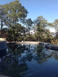 Mariposa chateau / country house rental - The swimming pool in the late afternoon, delightful from May to October