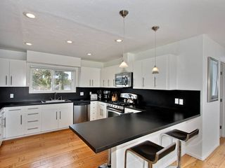 Mission Beach house photo - Spacious kitchen with small appliances from blender to crock pot.