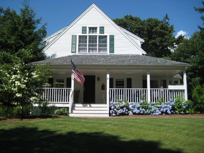Osterville house rental - Front view of house