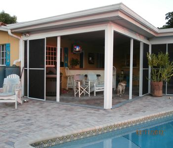 Summer Kitchen, Lanai and Retractable Screens