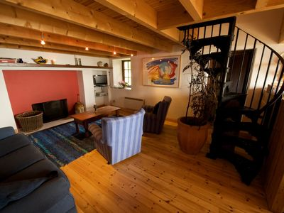 Mizen Head cottage rental - Living Area