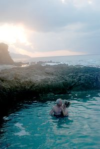 Romantic Getaway in our Natural Tidal Swimming Pool
