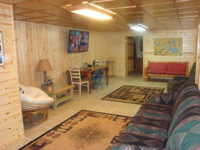 Small cabin on basement best home decoration world class for Log cabin with basement
