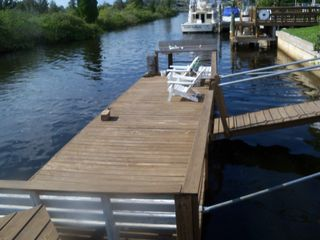 Hudson house photo - Bring boat...32ft floating dock....bait cutting sink...