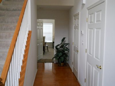 View looking to entrance to first floor master