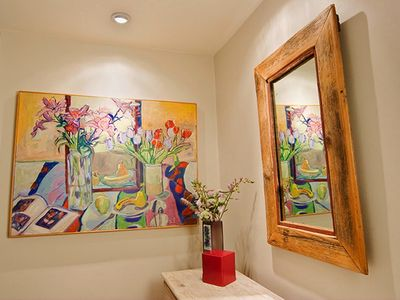 Original artwork + hand-crafted furniture from the Sweetheart Gallery