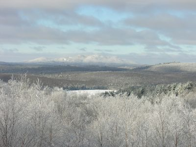 view from the master bedroom in winter