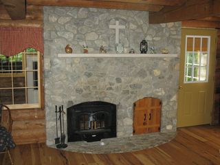 Madison cabin photo - Fireplace