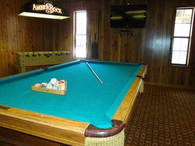Big Bear Lake house rental - Large Game Room