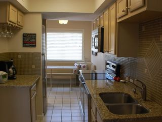 "St. Augustine Beach house photo - ""Sand"" designer kitchen, stainless steel appliances, granite countertops"