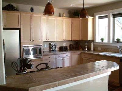 A gourmet kitchen will accommodate all your needs!
