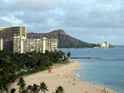 Waikiki beach at walking distance.