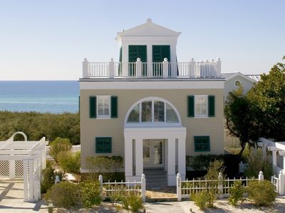 Front Exterior | Savannah Sands | Cottage Rental Agency | Seaside, Florida