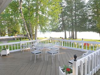 Burt Lake estate photo - Main House - Outdoor Dining