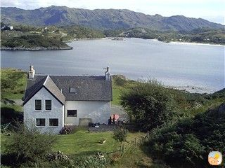 Superbly restored croft house overlooking the White Sands of Morar