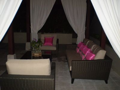 Relax in the Sala at night