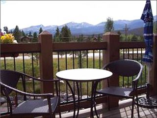 Baldy Mountain Breckenridge condo photo - Enjoy Beautiful Views from Deck