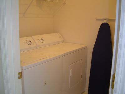 Esprit Estates villa rental - Laundry Room