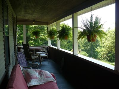 The porch - a gathering place