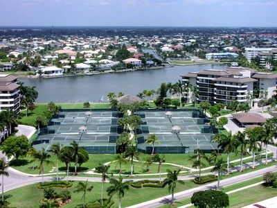 South Seas Club condo rental - Tennis Courts