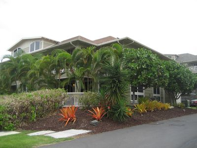 Our 2 story end unit in Alii Cove