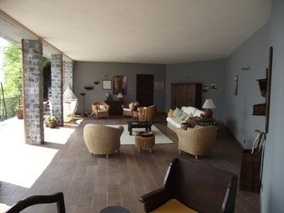 Lake Lugano villa rental - Outside living