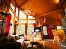 Georgous Great Room! 20-foot vaulted ceiling + Hi-Def TV w/ HD Directv DVR! - Black Hawk cabin vacation rental photo