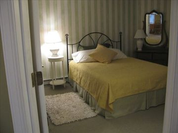 Your newly decorated bedroom with a large double wardrobe