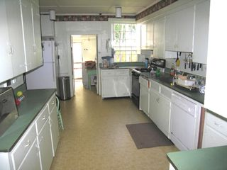Mattapoisett house photo - Big House Kitchen and Laundry beyond