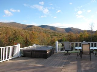 Jay Peak house photo - Breaktaking views and a Hot Tub under the stars!