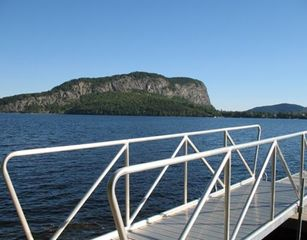Rockwood cottage photo - Mt Kineo at Dock