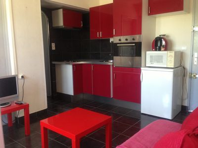 At 50 meters from the BEACH T2 1 bedroom 1 terrace 1 parking