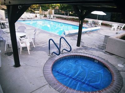 Nipomo condo rental - Private Jacuzzi membership included