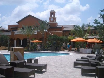 First-Class Resort Pool and Clubhouse