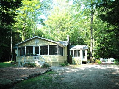 Wolfeboro cottage rental - Private, wooded setting