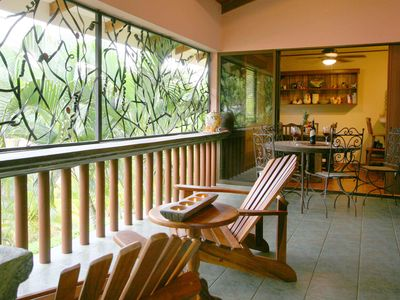 covered lanai, enjoy the outdoors rain or shine